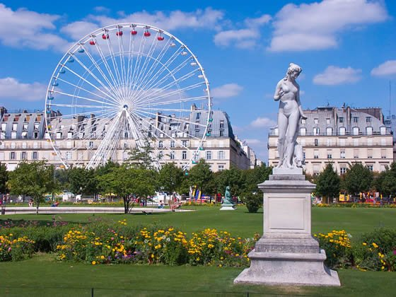 Jardin des Tuileries – Top Fun Places in Paris for Kids