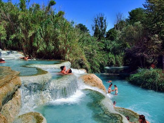 Terme di Saturnia – Jacuzzis in Paradise
