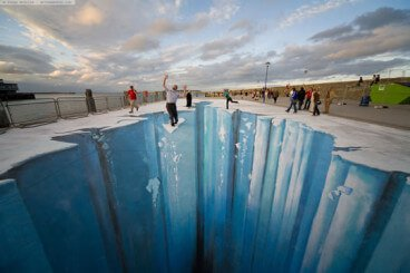 Top 50 Amazing 3D Street Art (Paintings)