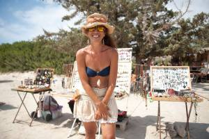 Elafonisi Beach, Katerina, Cretan Art Seeds - @World Travel Mama