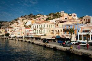 Gialos, Symi, Greece - @World Travel Mama