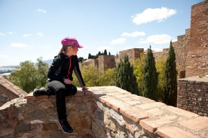 Malaga fortress - @World Travel Mama