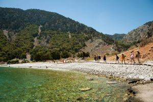 Nanou Beach, Symi, Greece - @World Travel Mama