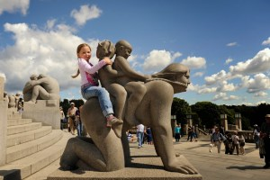 Vigeland Park Oslo - @World Travel Mama