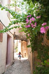 charming cobbled walkways, Rhodes Old Town, Greece - @World Travel Mama