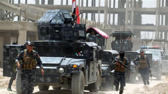 Iraq military warns hundreds of ISIL jihadists are fleeing Fallujah with civilians