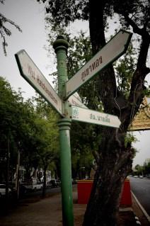 Bangkok - Panneaux