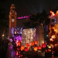 Lighting up Hong Kong