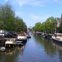 The Netherlands: Amsterdam on the water