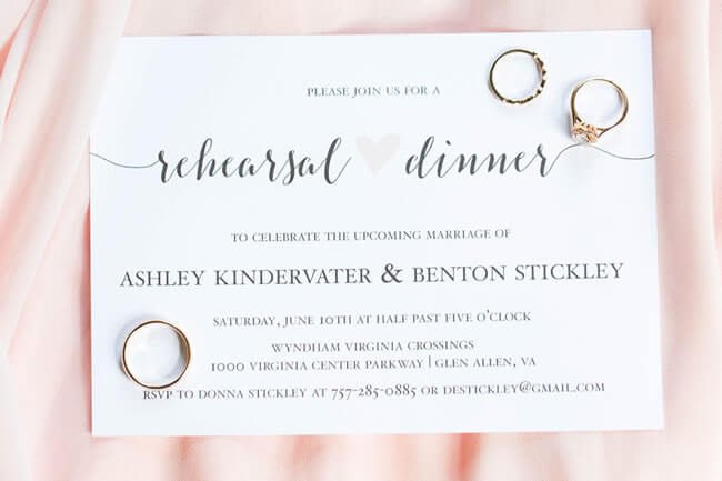 5 Charming Wedding Event Invitations From Basic Invite