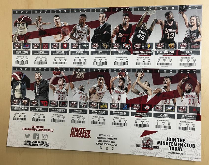 Season Sheets - The most economical alternative for season tickets
