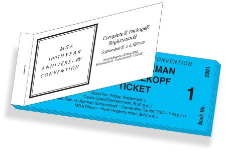 Coupon books for corporate giveaways or fan gifts