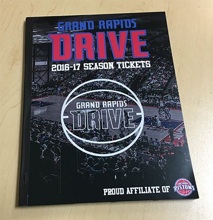 Season ticket books that include your artwork and design