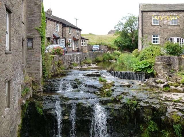 Waterfall at Hawes, Yorkshire, UK