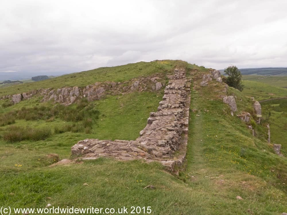 Hadrian's Wall at Sewingshields