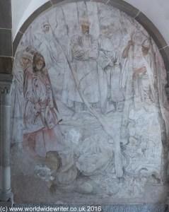 Fresco in the Fraumunster Cloister