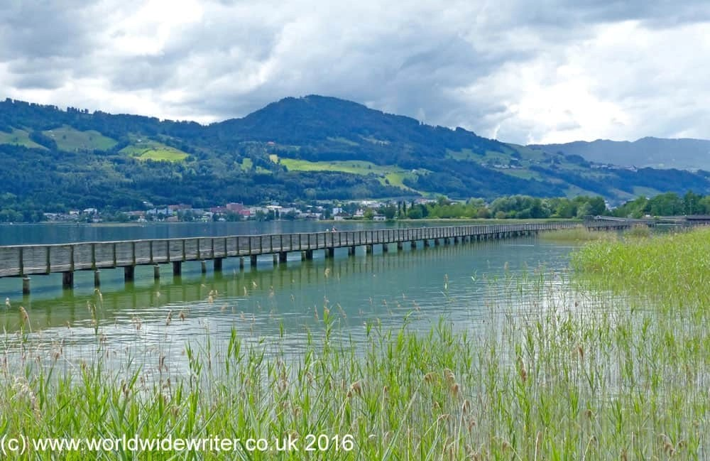 Nature and Pilgrimage on the Wooden Bridge of Rapperswil