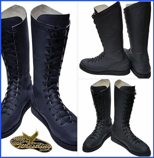 Pro Wrestling Boots Real Not Imitation Ebay