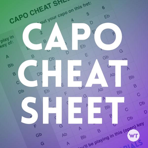 capo transpose chart - Timiznceptzmusic
