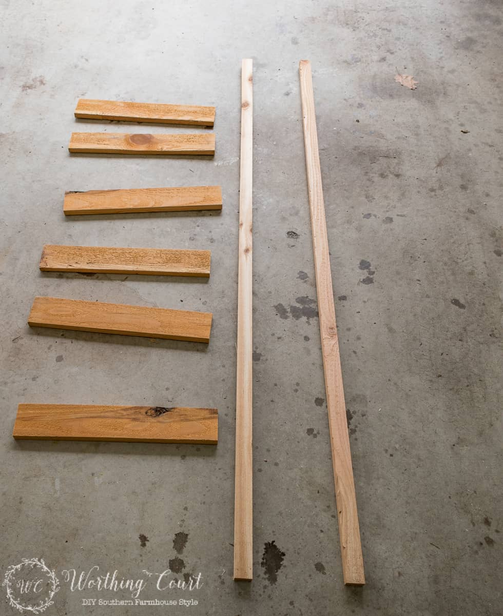 How To Make A Rustic Blanket Ladder For Under 20