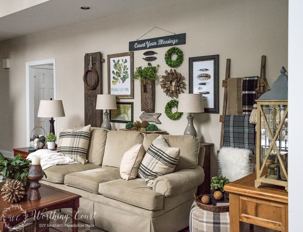 Welcome Winter Adding Cozy To My Family Room Worthing