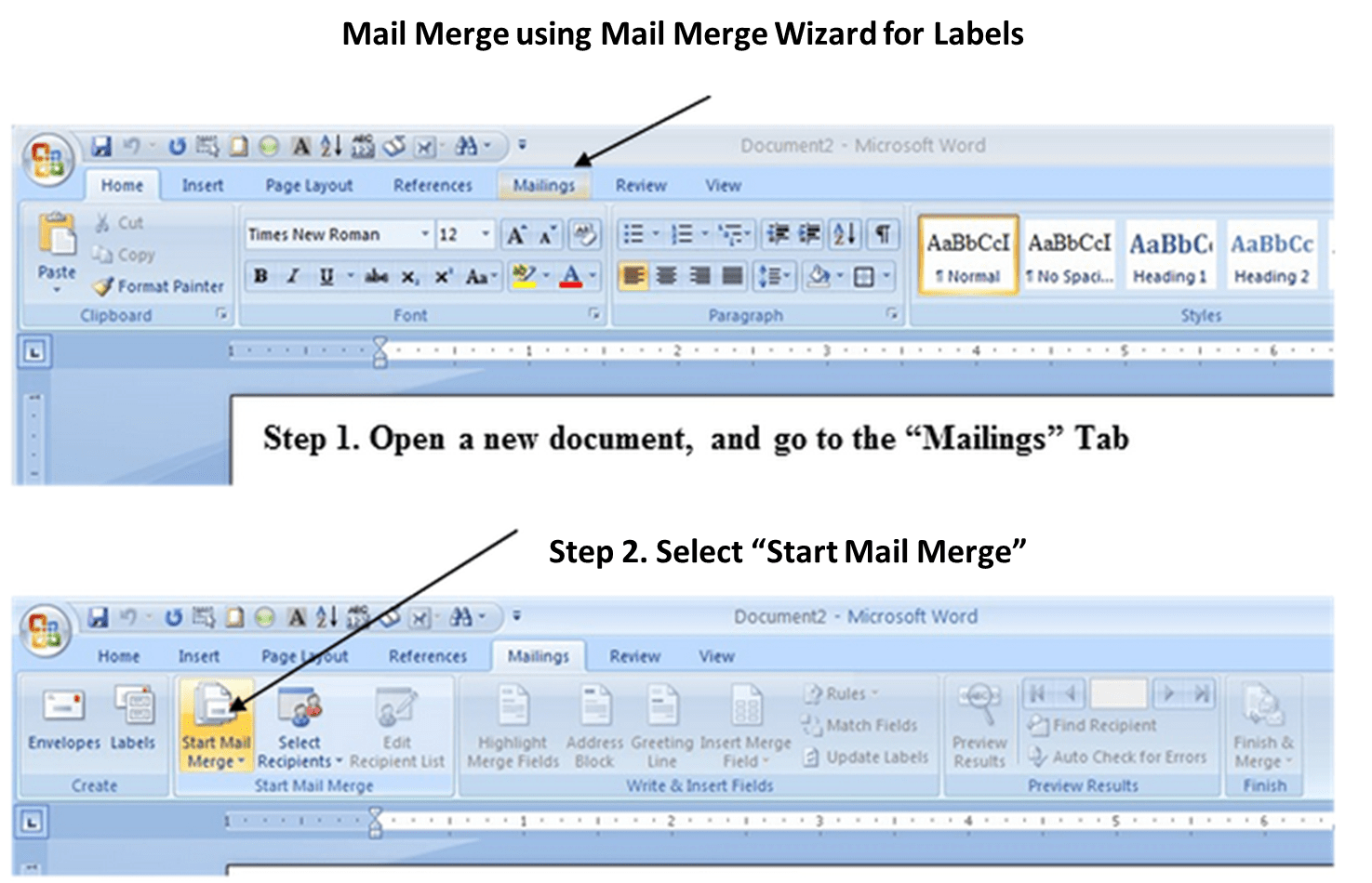 mail merge powerpoint