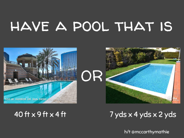 Pools and Volume