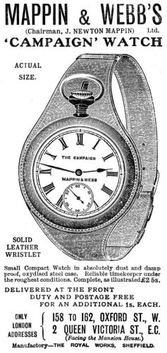 Origins of the wristwatch 1901-Wristlet-Advert.jpg?zoom=1