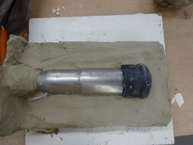 Preparing the milk cluster mould