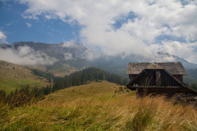 Romanian mountains - photo by Cinty Ionescu and featured in this album on Flickr and shared under a CC BY 2.0 Creative Commons License