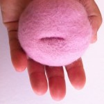 Felt Cervix Project by Sonya Philip