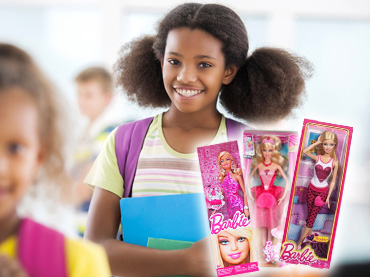 Girl Collects 1000 Barbie Dolls For 1000 Homeless Kids