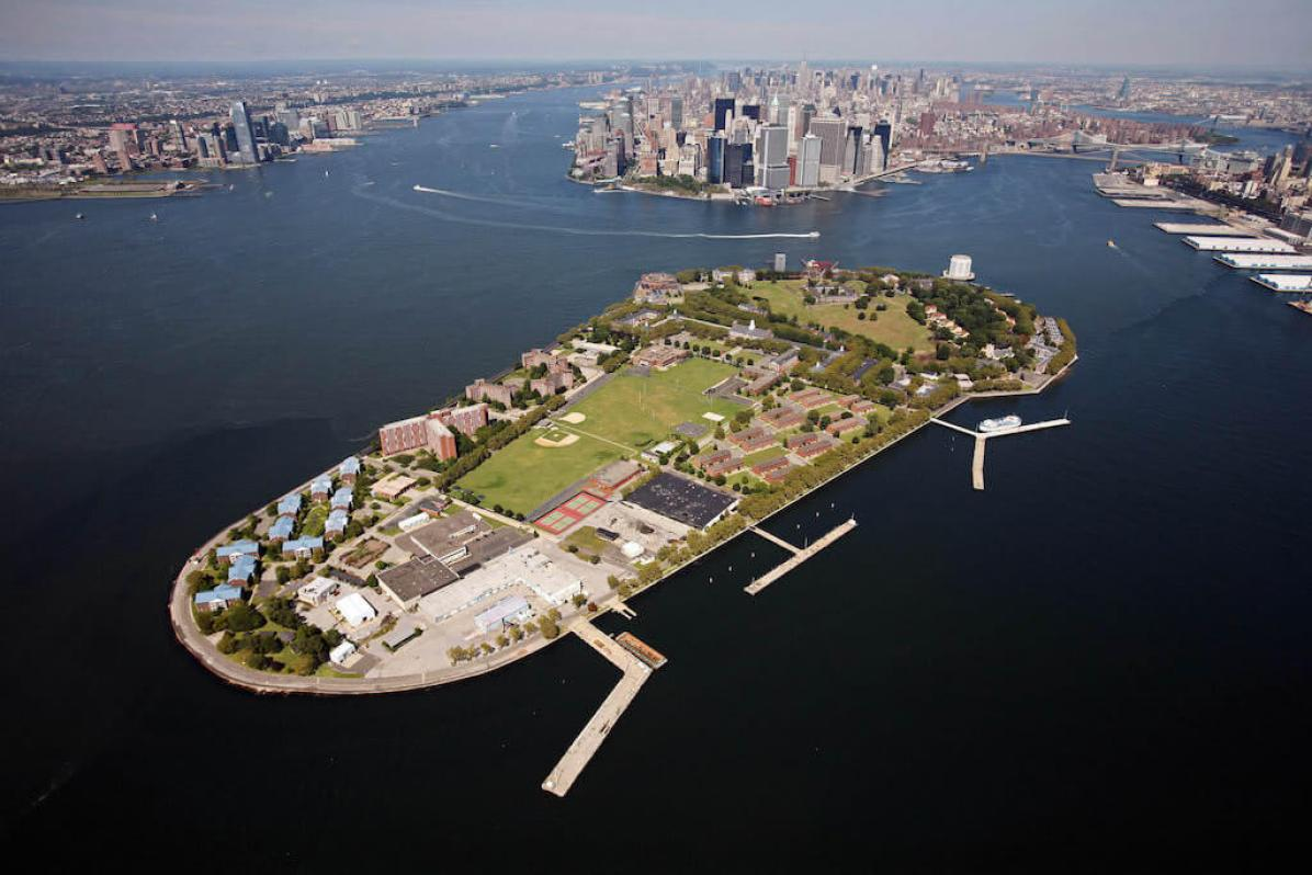 Govern Island In New York