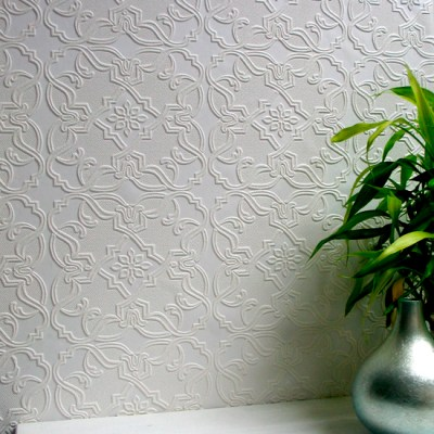 Anaglypta Wallpaper - Textured Wallpaper With Beautiful Embossed Designs