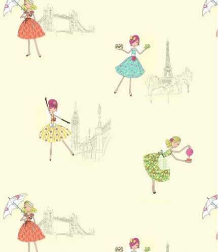 Cute Ballet Wallpapers Kids Wallpaper Create A Bedroom Wonderland For Your Child