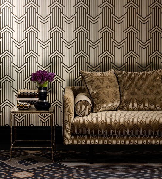3d Geometric Wallpaper For Walls Art Deco Wallpaper Inspired By 1920 S Glamour