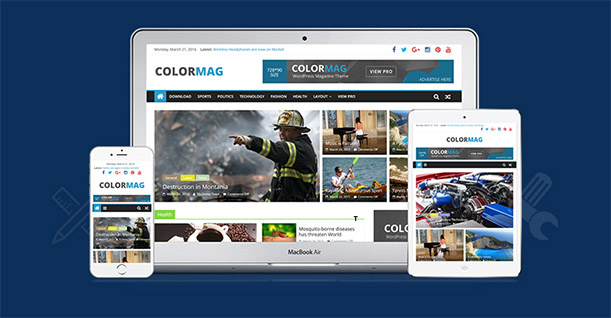 Setup a magazine website with WordPress and Colormag theme in 2018