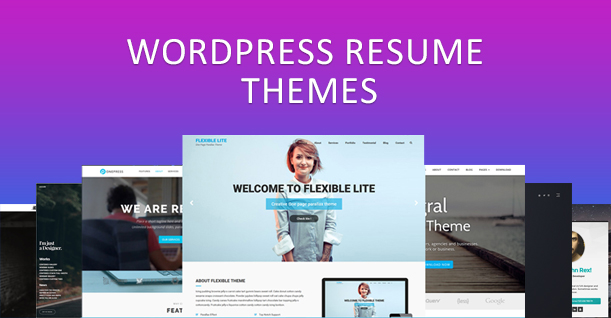 10 Best WordPress Resume Themes of 2018 To Create Amazing Resume - resume wordpress theme