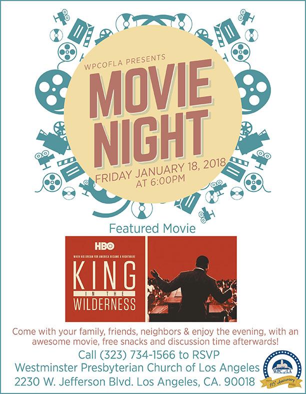 EVENT Movie Night \u2013 WPCofLA