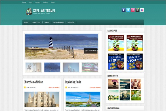 25 WordPress Themes for Travel and Adventures - wordpress travel themes