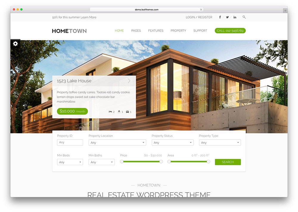 15 Best Real Estate WordPress Themes for 2017