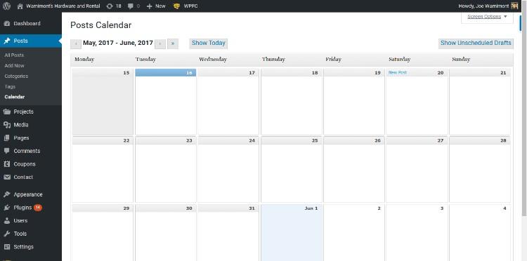 How to Build an Editorial Calendar in WordPress - WPExplorer