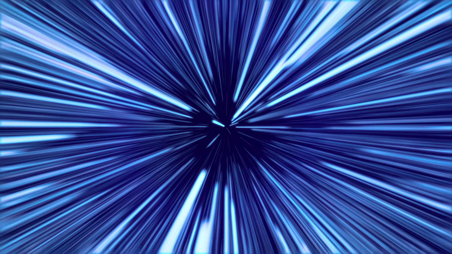 3d Effect Live Wallpapers Travel At Light Speed Blue Wpfaster