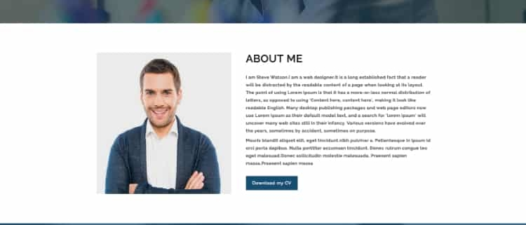 33+ Amazing Personal Website Templates for Portfolio, Profile