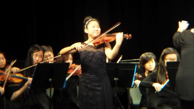 Nina Youn won GCYS Competition