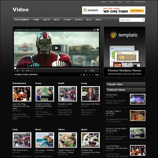 templaticvideowordpresstheme - WPOven Blog