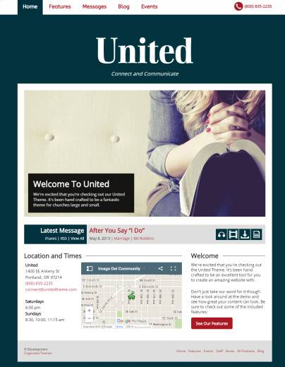 United Review - Organized Themes READ TRUTH