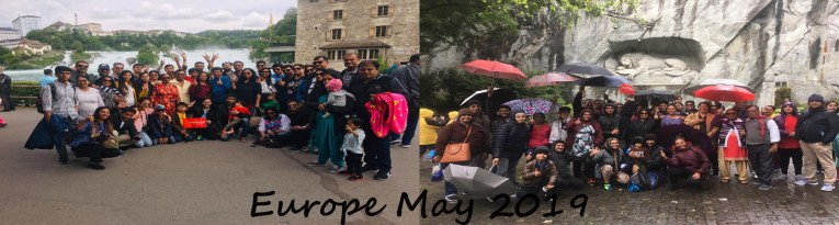 Europe summer 2019