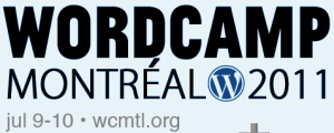wordcamp montreal logo