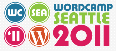 wordcamp seattle 2011 logo